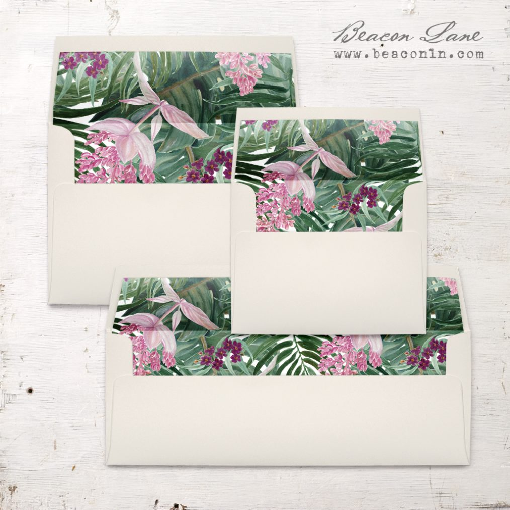 Tropical Forest Envelope Liners