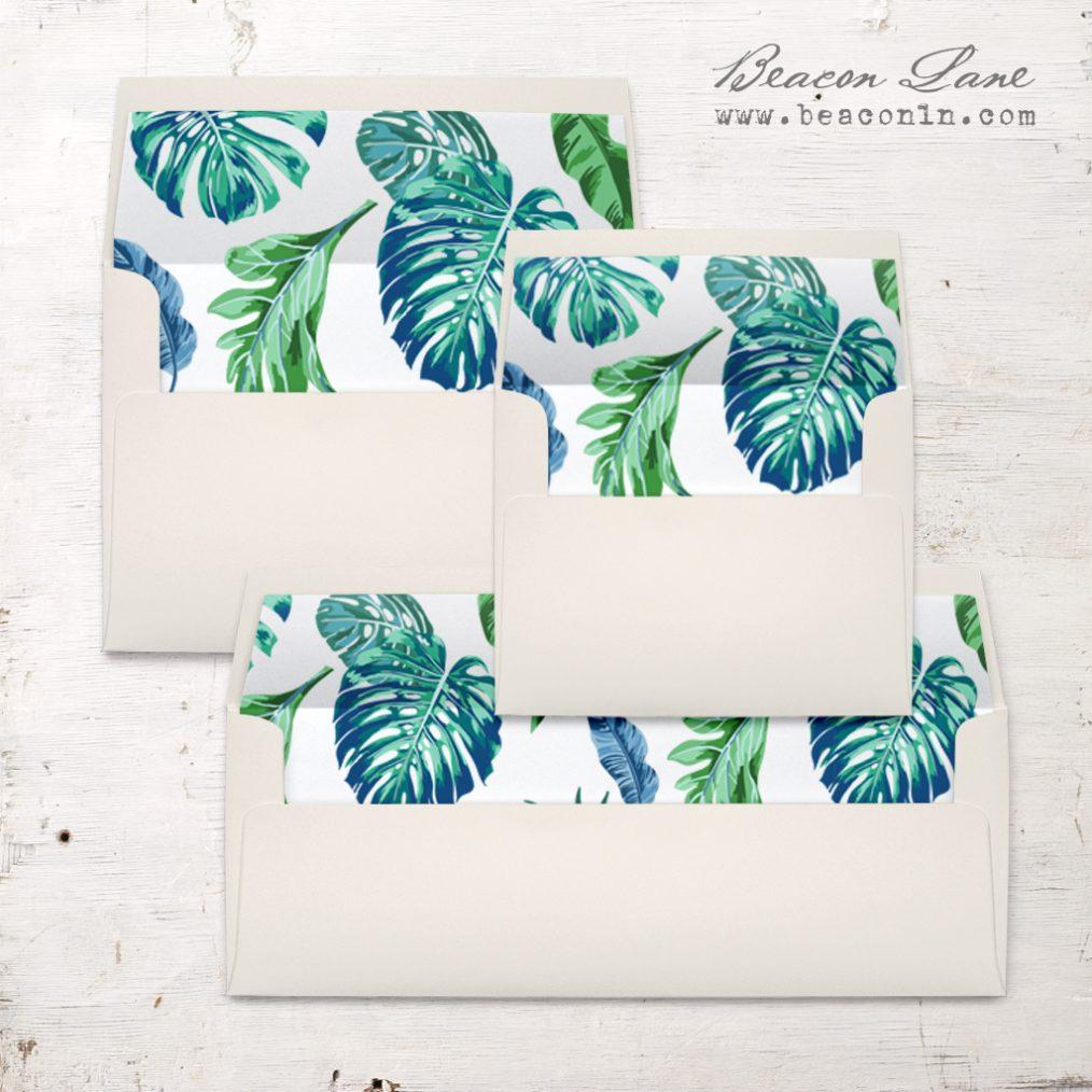 Tropical Ocean Envelope Liner