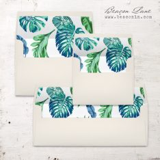 Tropical Ocean Envelope Liner