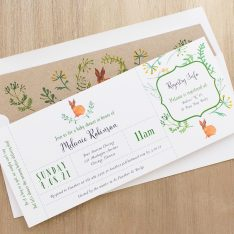 Velveteen Rabbit Baby Shower Invitation