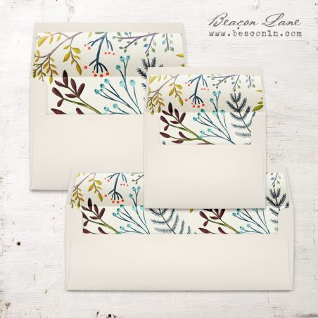 Winter Branches Envelope Liner
