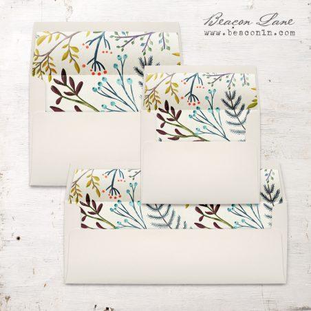 Winter Branches Envelope Liner