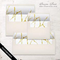 Marble #1 Envelope Liner