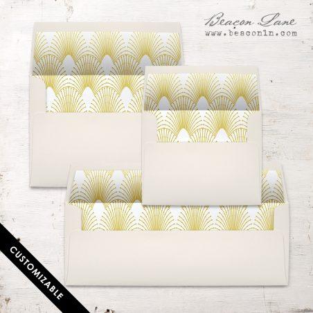Modern Arches Envelope Liner