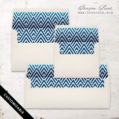 Modern Arrow Envelope Liner