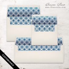 Modern Hexagon Envelope Liner