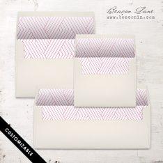 Modern Lines Envelope Liner