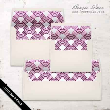 Modern Oval Envelope Liner
