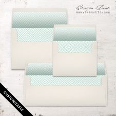 Modern Squares Envelope Liner