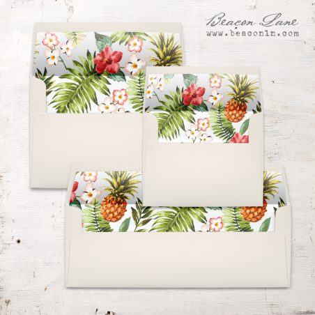 Pineapple Paradise Envelope Liner