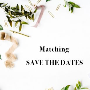 Corresponding Save the Dates