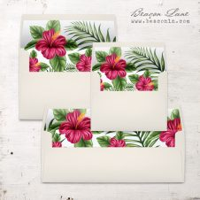 Tropical Love Envelope Liner