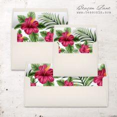 Tropical Love Envelope Liner