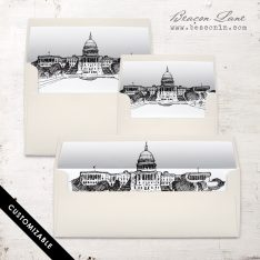 Washington DC Envelope Liner