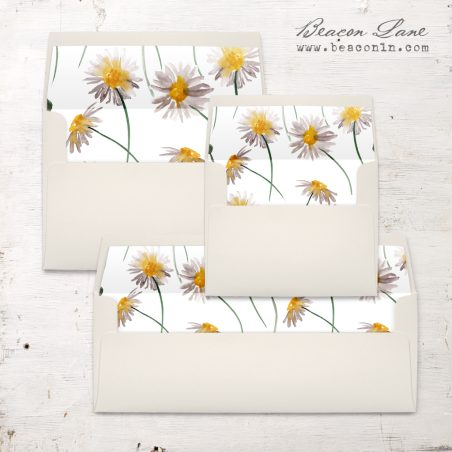 Wild Daisy Envelope Liner