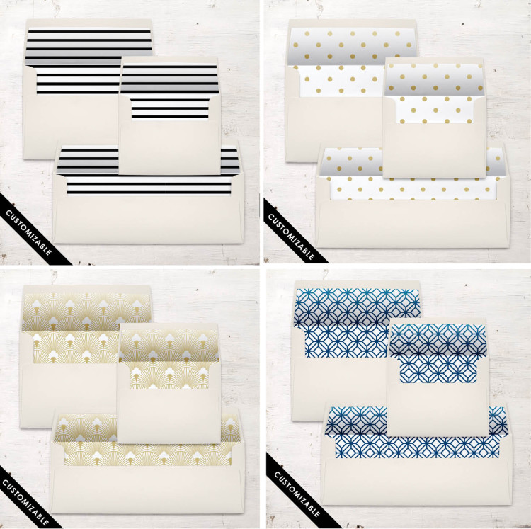 Envelope Liners by Beacon Lane