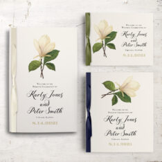 Sweet Magnolia Ceremony Booklets