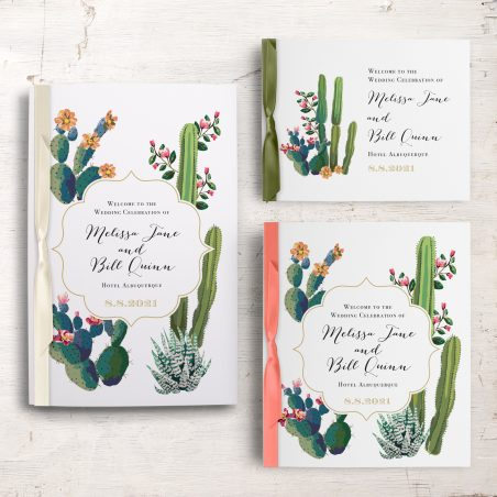 Desert Love Ceremony Booklet