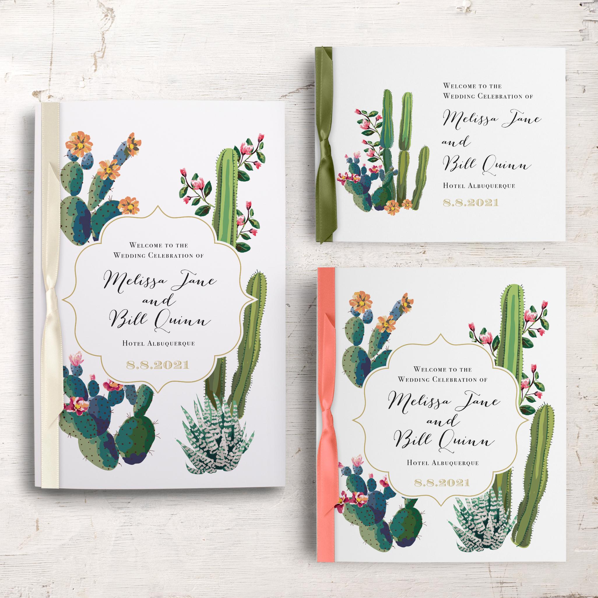 Desert Love Ceremony Booklet