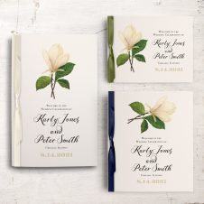 Sweet Magnolia Ceremony Booklet