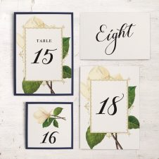 Sweet Magnolia Flat Table Numbers