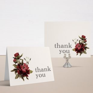 Modern Boho Bridal Shower Thank You Cards