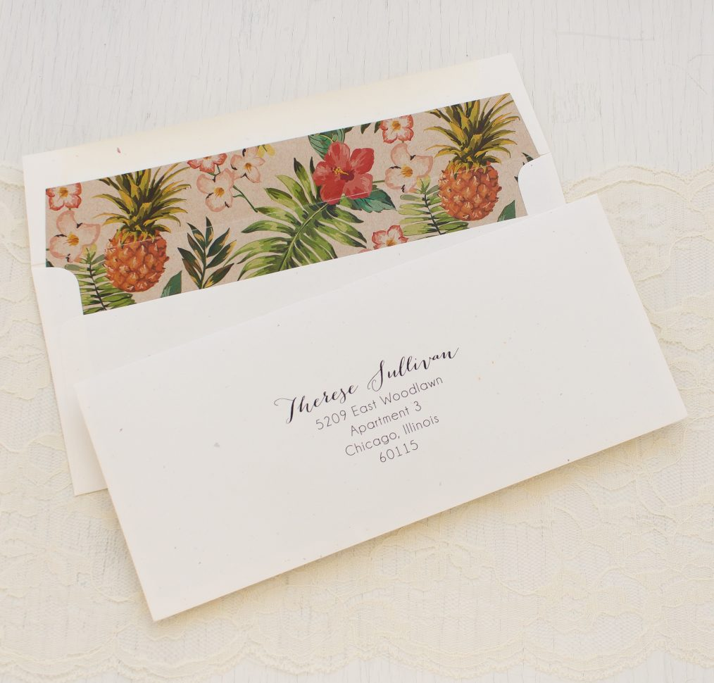 Pineapple Paradise Bridal Shower Invitations