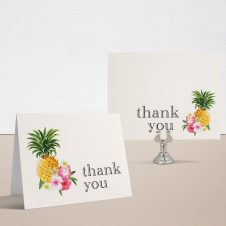 Pineapple Party Bridal Shower Thank You Cards