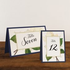 Sweet Magnolia Tented Table Numbers