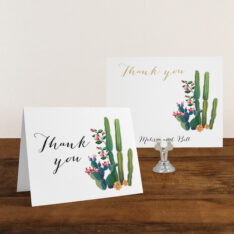 Desert Love Thank You Cards