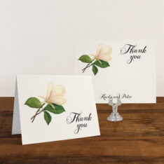 Sweet Magnolia Thank You Cards