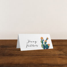 Desert Love Placecard
