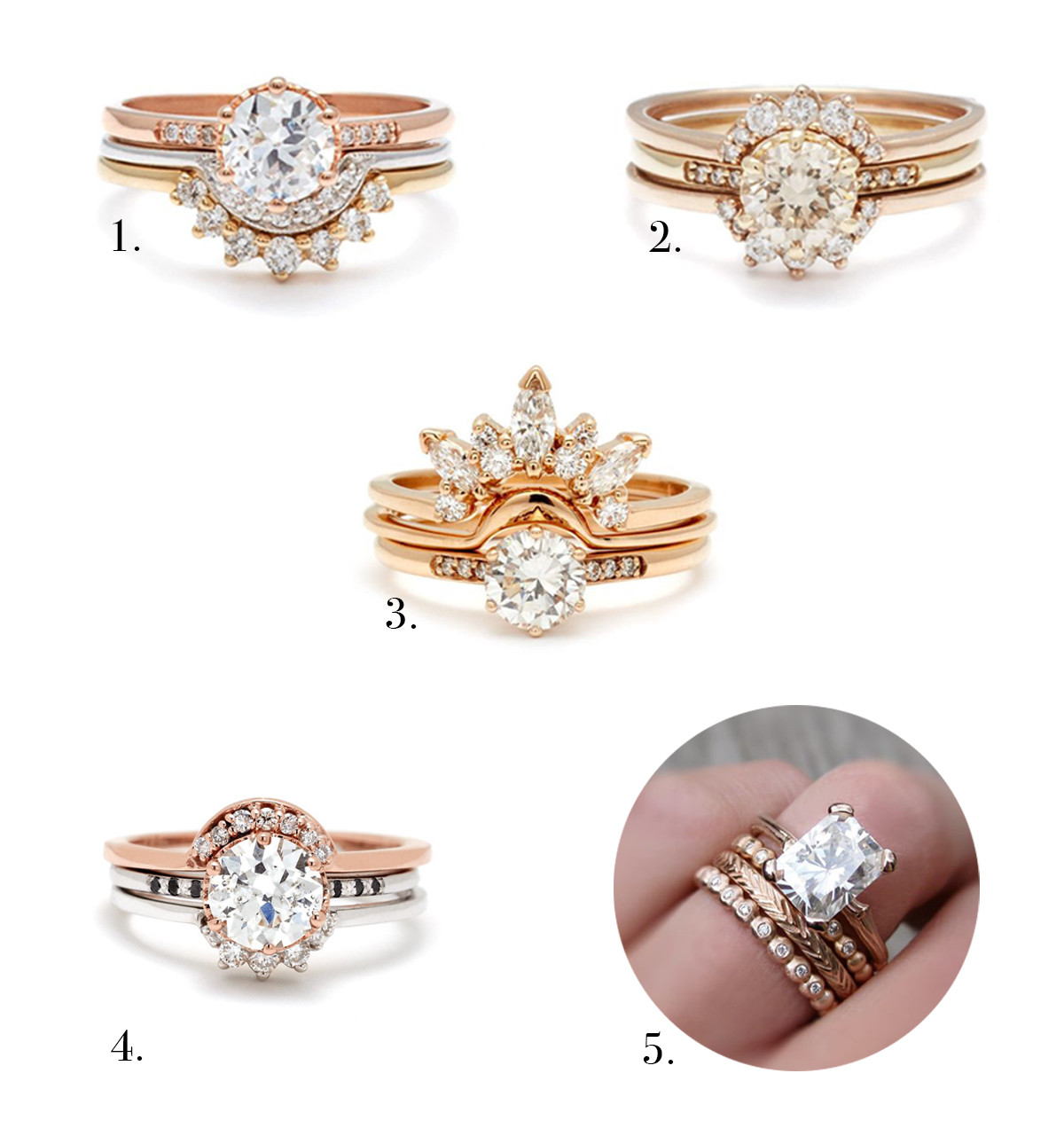 Different Styles Of Wedding Rings Top Engagement Ring Styles 2017