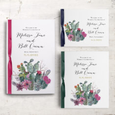 Desert Blooms Ceremony Booklets
