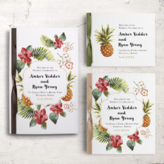Pineapple Paradise Ceremony Booklets