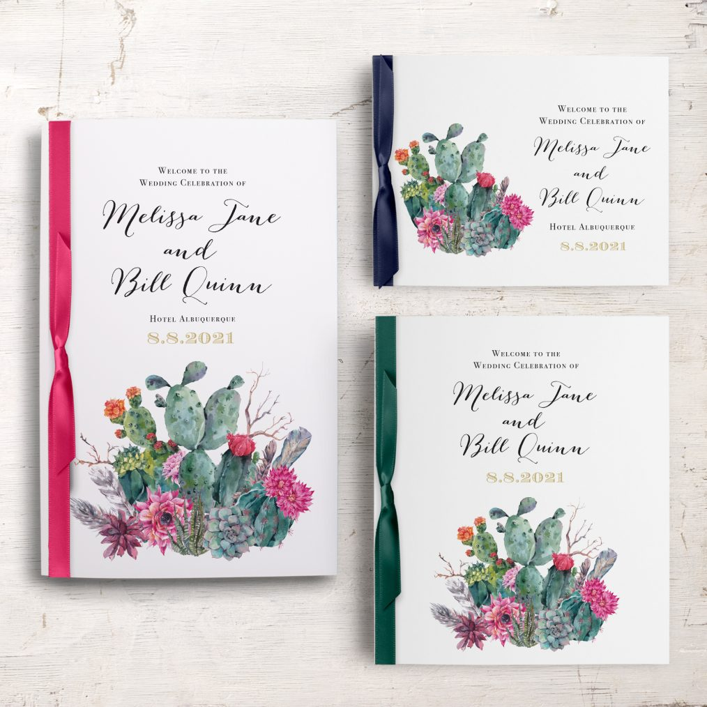 Desert Blooms Ceremony Booklet