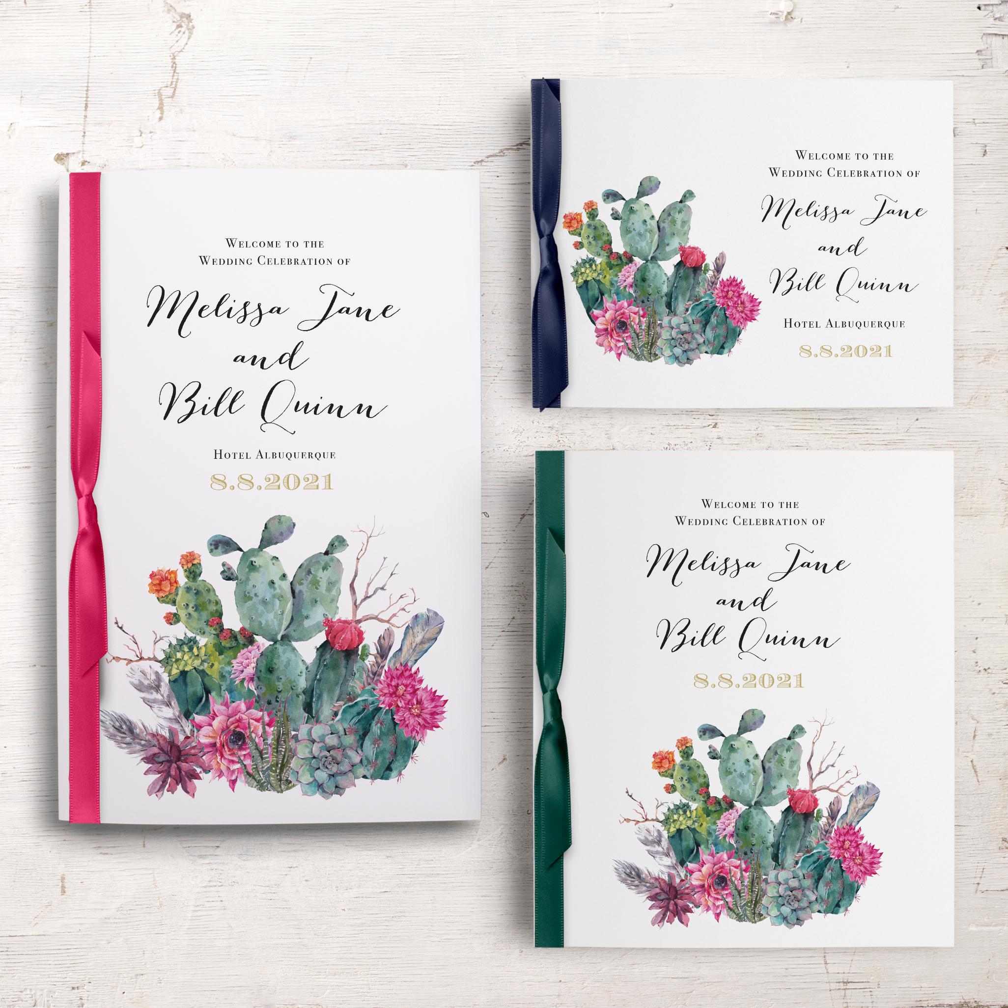 Desert Blooms Ceremony Booklet