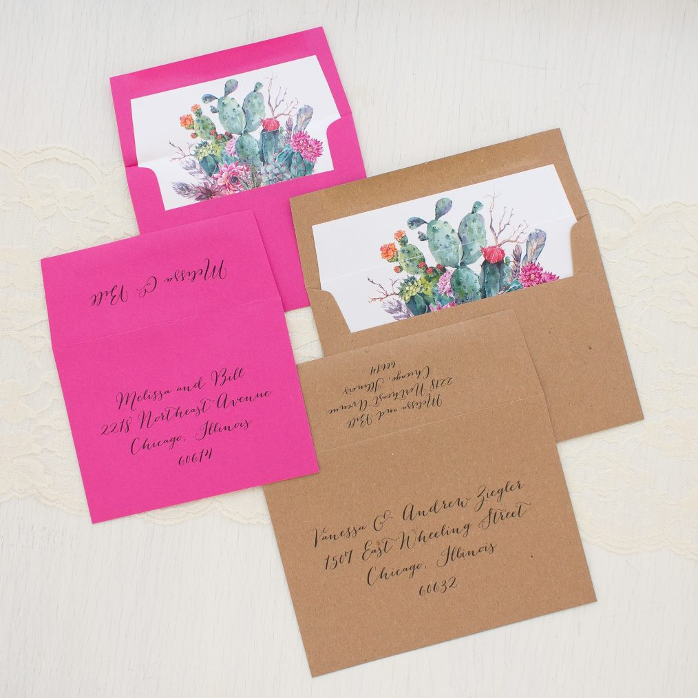 Desert Blooms Wedding Invitations