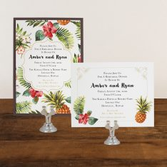 Pineapple Paradise Rehearsal Invitations