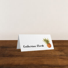 Pineapple Paradise Place Cards