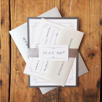 Whimsy Elegance Wedding Invitation by Beacon Lane