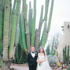 Botanical Cactus Garden Wedding