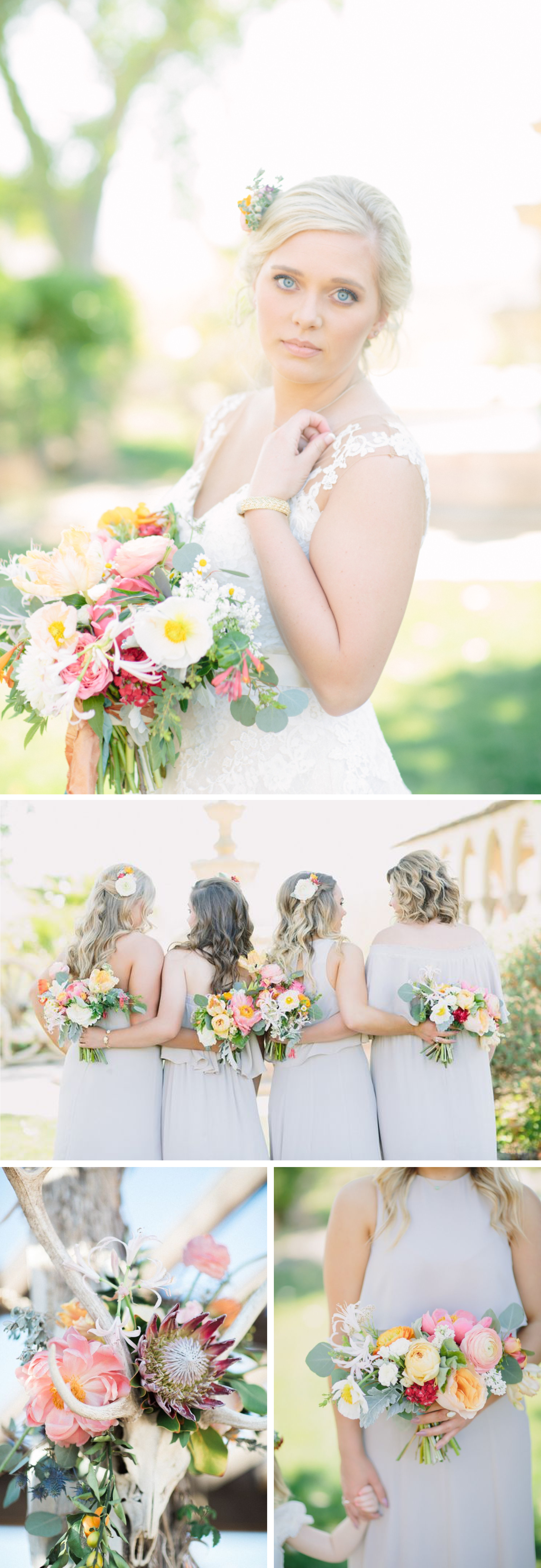 Colorful Texas Desert Wedding