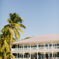 Nautical Key West Beach Wedding