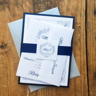 Classic Love Wedding Invitations by Beacon Lane
