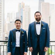 Elegant Chicago Bridgeport Art Center BL Real Wedding