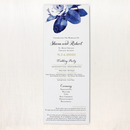 Urban Garden Flat Ceremony Programs