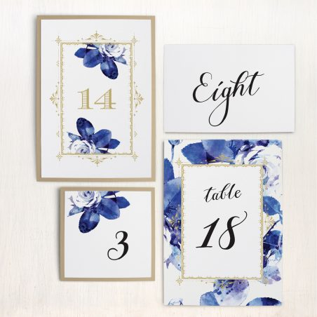 Urban Garden Flat Table Numbers