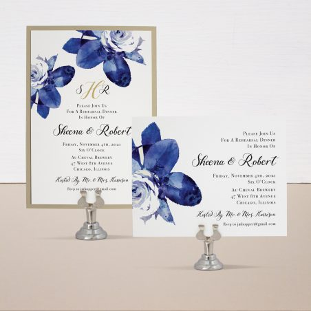 Urban Garden Rehearsal Invitations