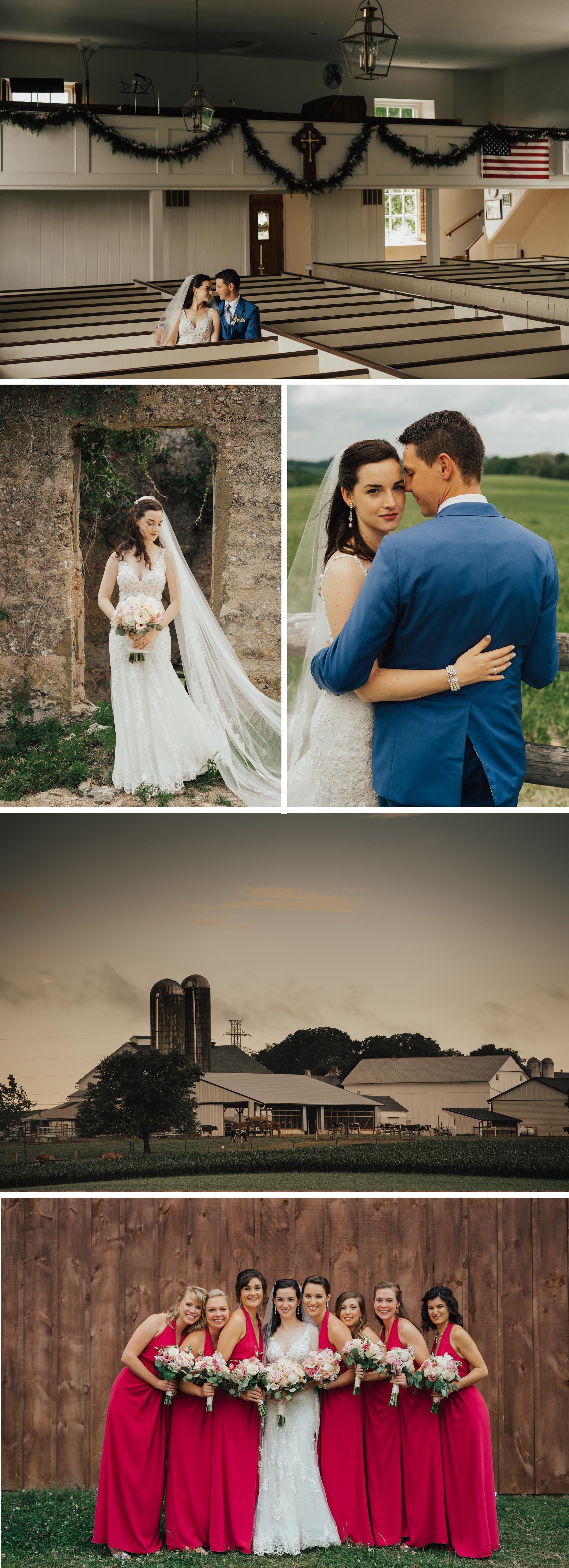 Vintage Inspired Pennsylvania Farm Wedding